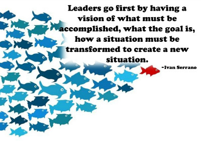 leaders go first